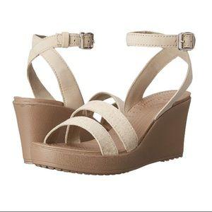 Crocs Leigh Wedge Heels Shoes